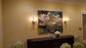 Dining Room Murals Custom Murals In Tampa And St Petersburg Splat Paint