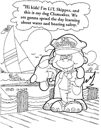 coloring sheets for summer safety coloring pages ideas