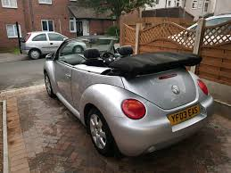 vw beetle 1 6 cabriolet manual 2003 in rotherham south