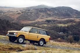 old land rover models land rover classic restored the original range rover to like new