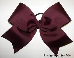 maroon ribbon jewels burgundy cheerleading ribbon wheretoget
