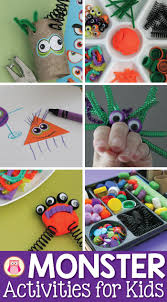 124 best monster activities images on pinterest monster