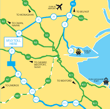Ez Pass States Map The M50 Toll Road