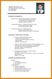 Best Format Resume by Job Application Resume Format Letter Format Template