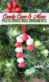 easy diy pasta christmas ornaments