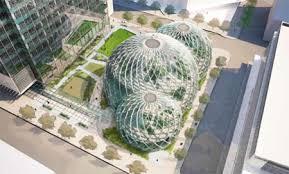 amazon un futur siège social avec des biosphères idboox