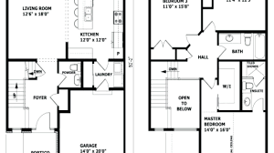 Floor Plan Of A 2 Story House Home Design Modern 2 Story House Floor Plans Compact For Sale La