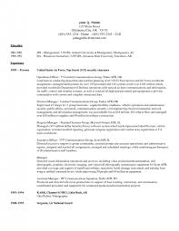 Security Specialist Resume Cover Letter Computer Security Resume Sample Computer Security