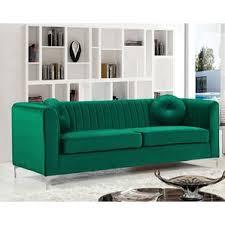 Green Sofa Bed Emerald Green Sofa Wayfair