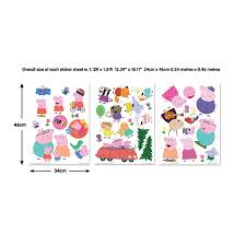 walltastic peppa pig wall stickers from design2please