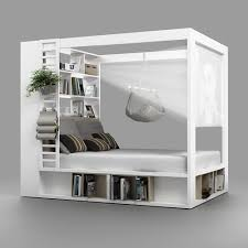 4you design 4you four poster bed packed with storage pinteres