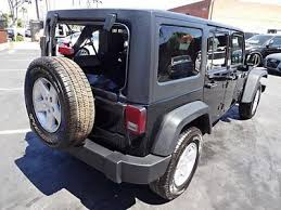 wrecked jeep wrangler for sale 2016 jeep wrangler unlimited sport 4wd salvage wrecked repairable