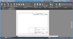 layout en autocad 2015 how to insert a title block