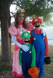 Peach Halloween Costume Peach Mario Luigi Costume