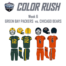 packers vs lions thanksgiving 2016 color rush concepts packers vs bears 10 19 concepts