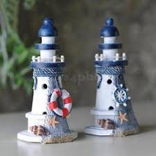 lighthouse home decor starfish wooden lighthouse nautical themed rooms lighthouse home