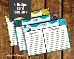 amazing blank recipe template 37 examples in pdf word psd