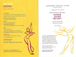 Invitation Cards For Alumni Meet Opera Adriaballetbeat