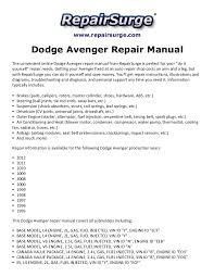 dodge avenger manual axle 98 dodge avenger diagram 98 dodge caravan se mifinder co