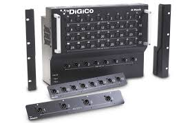 Box Audio Rack Digico D Rack Floor Mount 32 In 16 Out Stage Box