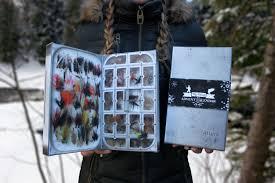 fly fishing christmas advent calendar