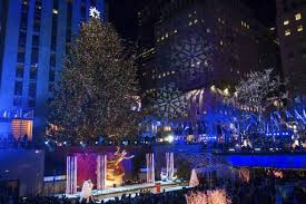 rockefeller tree lighting attracts thousands