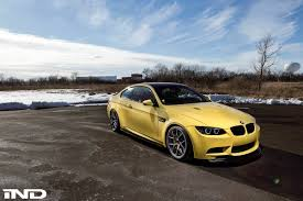 Bmw M3 Yellow 2016 - 2013 e92 m3 dakar yellow ii