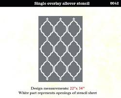 Decorative Wall Stencils Awesome Picture Of Home Decor Wall Stencils Perfect Homes