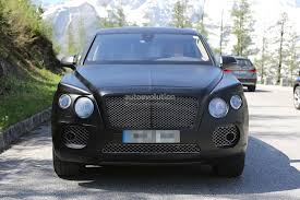 blue bentley interior bentley suv interior revealed in prototype u0027s first spyshots