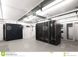 small air conditioned computer server room stock image image