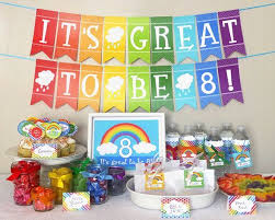 Rainbow Party Decorations 25 Unique Baptism Party Decorations Ideas On Pinterest Boy