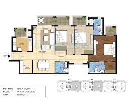 4 bhk 4900 sq ft penthouse for sale in indiabulls centrum park