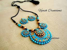 handmade necklace designs images 618 best magical clay images beaded necklace jpg