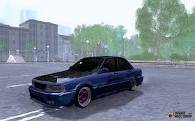 mitsubishi colt 92 galant 92 drift for gta san andreas