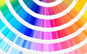 catchy color also year plus pantone color along with year with
