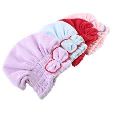online get cheap shower bath wrap aliexpress com alibaba group lady bath microfiber towel quick dry hair drying bowknot shower bath wrap hat cap spa bath