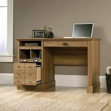 desks sauder edge water computer desk chalked chestnut coffee