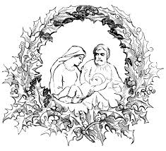 christmas coloring pages wallpapers9