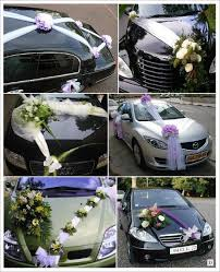 noeud de voiture mariage noeud decoration mariage le mariage