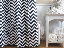 Gray And White Chevron Curtains by Backyard Impressive Blue Chevron Curtains 108 Navy And White