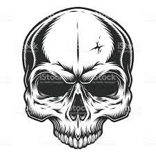 halloween pirate background monochrome illustration of skull stock vector art 619537642 istock
