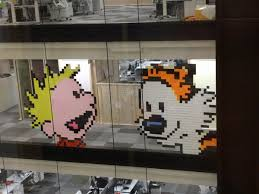 Google Wall by Who Wore It Best Gocomics Vs Google Calvin And Hobbes Edition