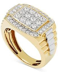 mens gold diamond rings men s gold rings shop men s gold rings macy s