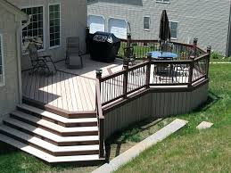 composite decking idea composite deck bench ideas composite deck