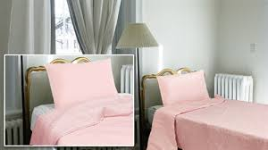Solid Pink Comforter Twin The Furniture Cove Twin Full Reversible Comforter U0026 Pillow Case