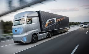 mercedes commercial trucks mercedes future truck semi is an auto driving rolling light