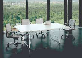 Large White Meeting Table Breeze Unique Design Meeting Conference Table With Designer
