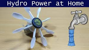 How To Make A Small Wind Generator At Home - hydro power at home hydroelectric generator diy youtube