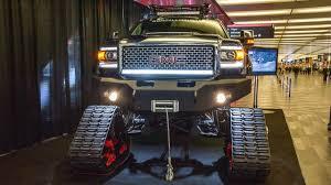 badass trucks the sierra all mountain 2 0 is gmc u0027s copy of ken block u0027s