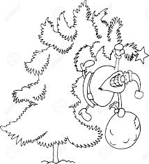 illustration of santa claus or or papa